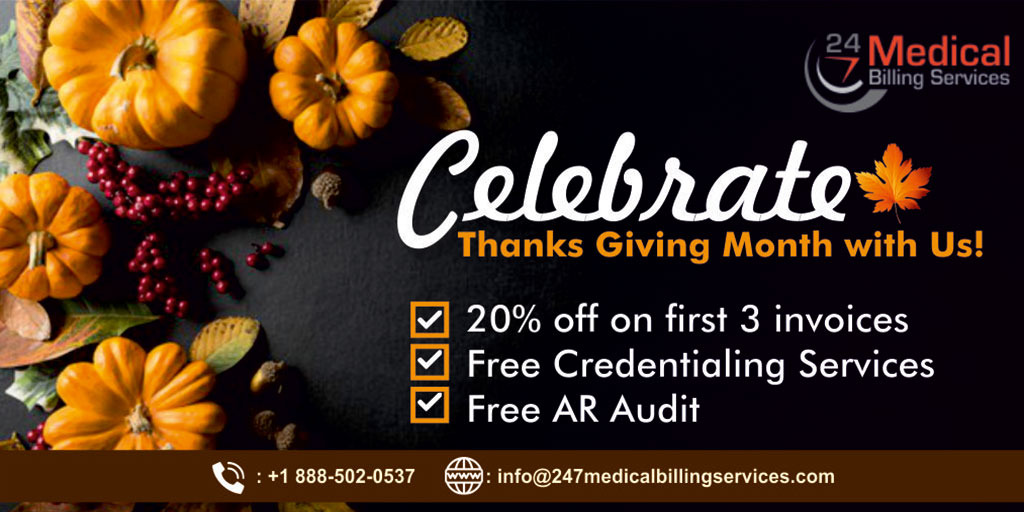 Thanksgiving offer in healthcare by 247 Medical Billing Services