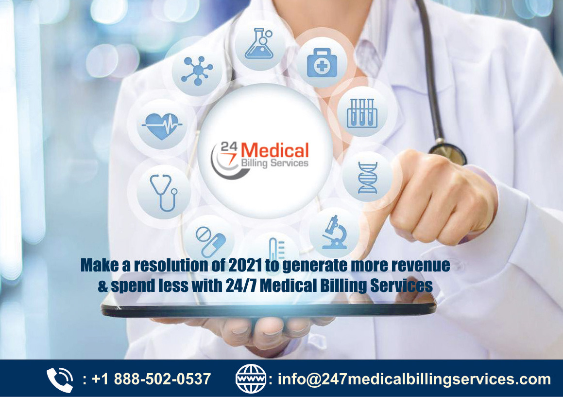 Make a resolution of 2021 to generate more Revenue & spend less with 24/7 Medical Billing Services