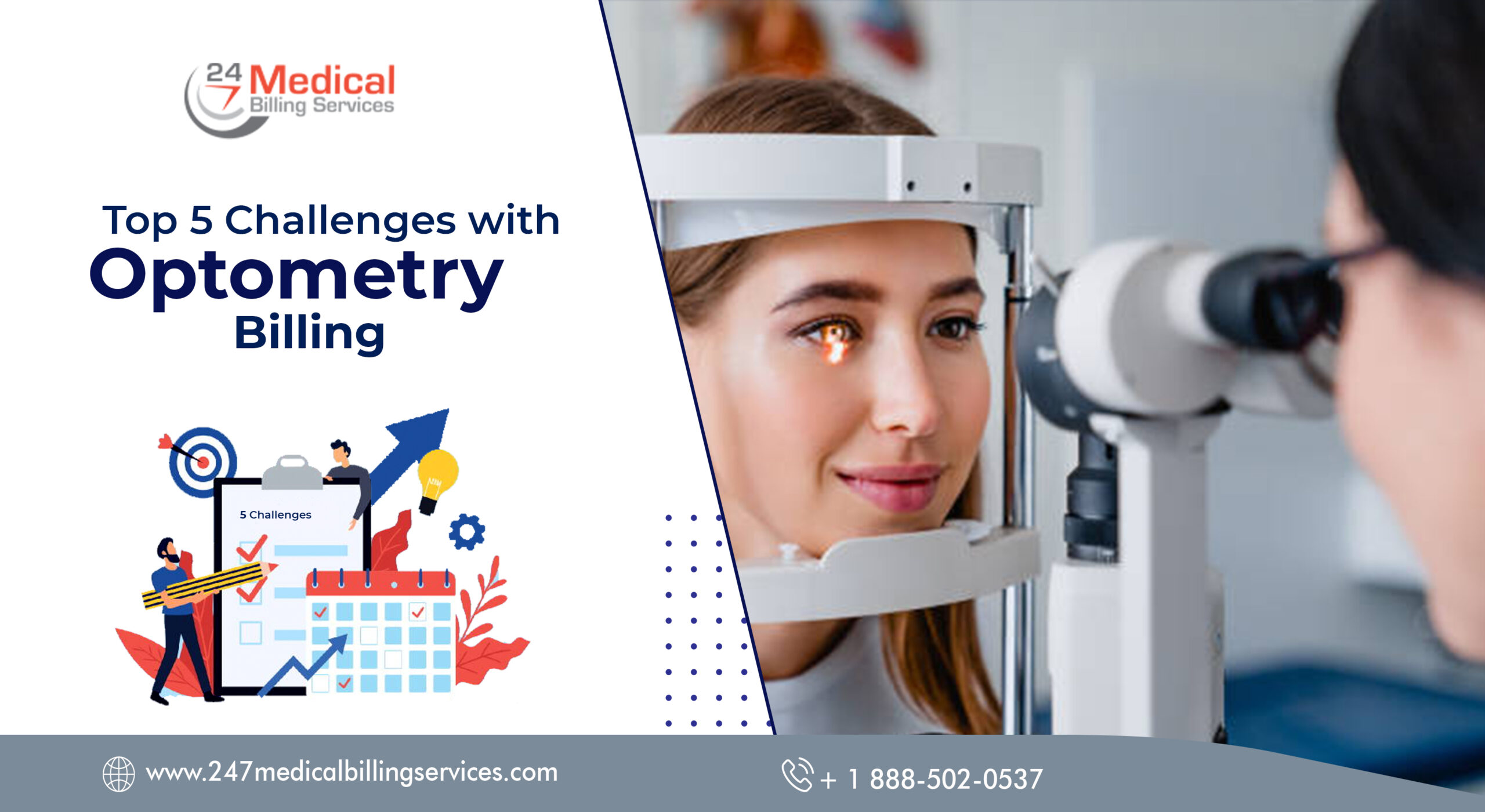 Top 5 Challenges with Optometry Billing