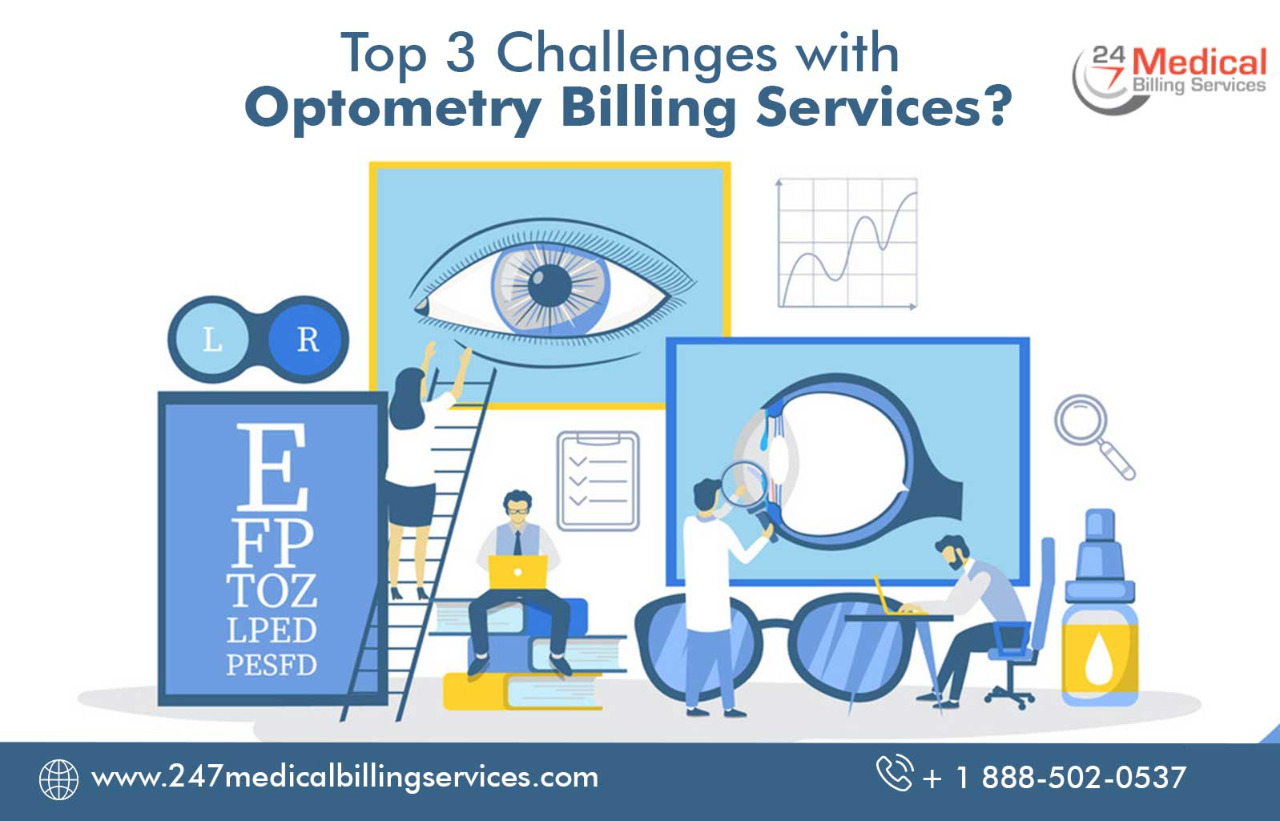 Top 3 Challenges with Optometry Billing Services